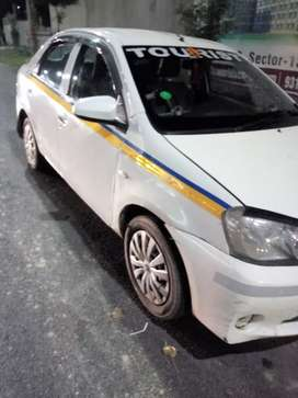 Toyota Etios CNG up16 taxi all India permit