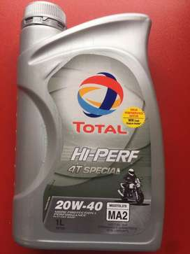 Total Engine oil 4T- 20w  40