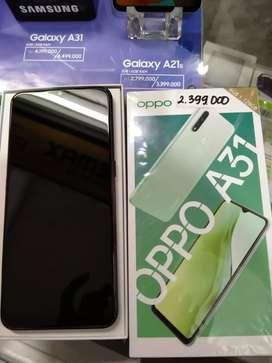 Oppo A31 6/128GB Bekas seperti baru garansi panjang