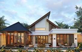 Jasa Arsitek Jakarta Desain Rumah 237m2 - Emporio Architect
