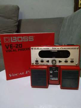 Efek Boss VE 20 Vocal Processor