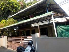 A House Plot with Old house for Sale at Punkunnam Thrissur