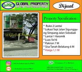 DIjual Ruko 2 Lantai Daerah Sigunggung