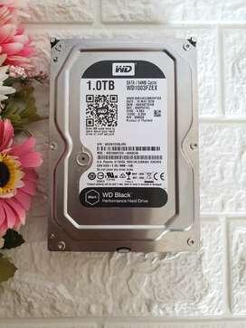 Hardisk PC 1 TB WD Black Sata3 6Gbps 7200rpm 100% No Bad Sector Server