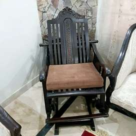 Solid wood beautiful rocking chair