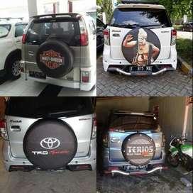 Cover/Sarung Ban Serep Toyota Rush/Terios/Panther/Suzuki Escudo Dll Ma