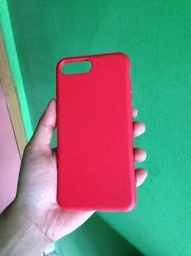 Ipaky Macaroon Softcase Iphone 7 Plus 8 Plus - Merah