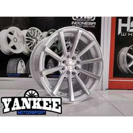 Cicil Velg Mobil DP 10% HSR Wheel HUSTLER Ring 16 Hole 4X100-114,3 SMF