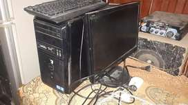 Core i5 dell with lcd