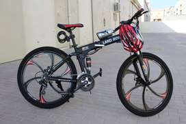 NEW IMPORTED LAND ROVER 21 GEARS FOLDABLE CYCLE