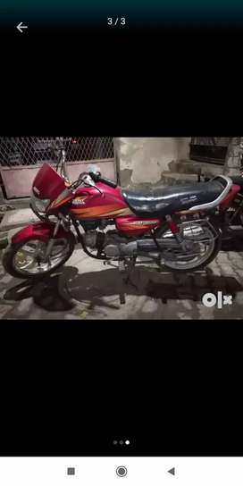 Bike with fresh engine in good condition with no problem