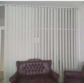 Vertical Blind - Interior Bernaturalisasi