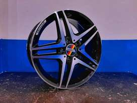 Kredit Velg Mobil Tiguan, Mercy, Silvia, Livina All New Ring 17 HSR