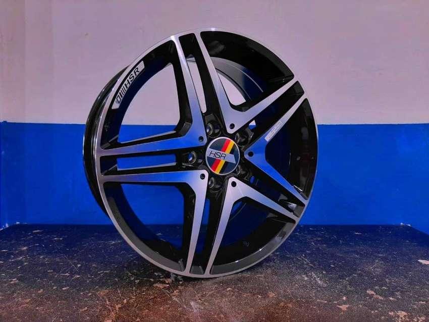 Kredit Velg Mobil Tiguan, Mercy, Silvia, Livina All New Ring 17 HSR 0