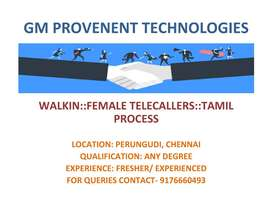 Female fresher job opening- Domestic Voice