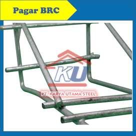 Pagar BRC Electroplating 90 x 240 besi 6