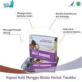 obat herbal blister kulit manggis isi 20 kapsul