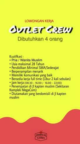 Karyawan Outlet Dimsum Citra - Kapten Muslim