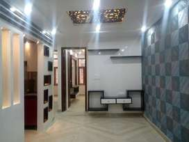 3bhk corner flat excellent interior at dwarka mor
