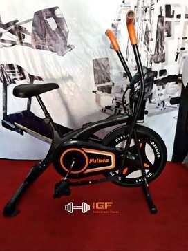 Jual Peralatan Fitness  bike platinum 388N Indo grosir fitness88