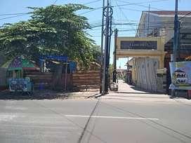 Tanah disewakan dipinggir jalan Godean KM 4, dekat mirota kampus