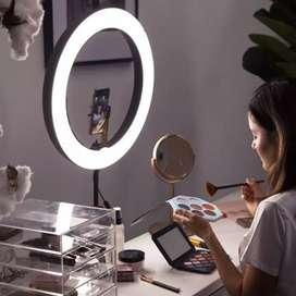 Lampu Ring Ringlight Bicolour Prof MUA LED 36cm 288 5600K Dimmable 18W