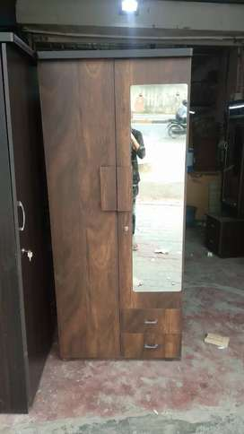 New 2 door wardrobe with mirror