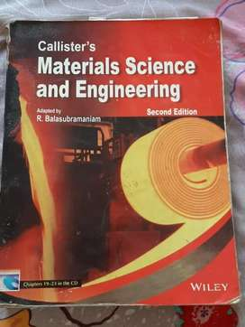Material science and engineering by Callister.