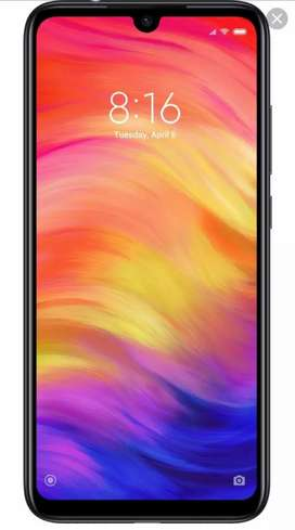 Redmi note 7 pro 6 Gb ram 128 gb internal. Used only 2.5 months