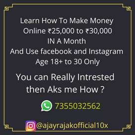 weekly Just spend 2-3 hrs on internet and earn up to 6000 Rs/week