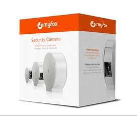 Myfox Security Camera with Privacy Shutter (Wi-Fi, Wireless Smart Home