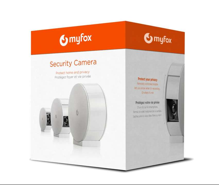 Myfox Security Camera with Privacy Shutter (Wi-Fi, Wireless Smart Home 0