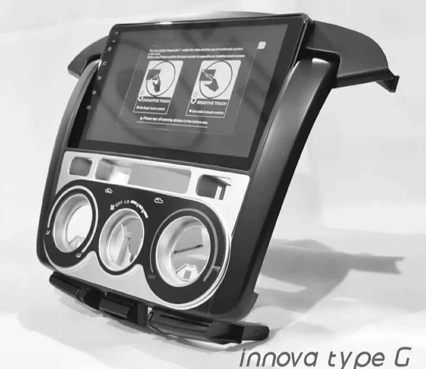HU Android 10 OEM Innova 10 Inch Car OEM Brand - Inova Type G - Type V 0