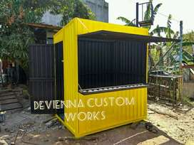 Container cafe Container restoran Container coffee shop Container kafe
