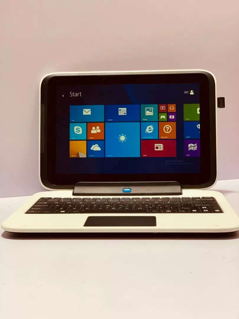 Mini laptop turn into Ipad with 2 GB RAM and 64 GB space. Online class