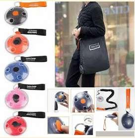 Roll up bag tas kantong belanja gulung praktis