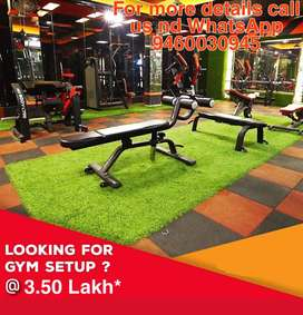 now full Gym set up in your budget