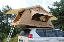 SCORPION Roof Top Tent 1,4 m Tenda di atas Mobil warna Sand Yellow