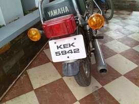 1987 model Yamaha Rx100 well maintained good tyres vehicle for sale