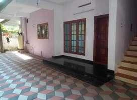 GF 3 BR apartment at Aluva town near metro station