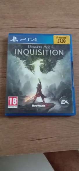 Kaset Ps4 ( inquition )