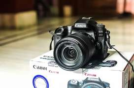 Canon Eos 80D only 16 times use