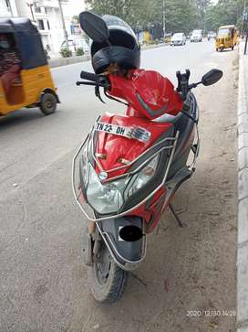 HONDA Dio BSIV red Colour