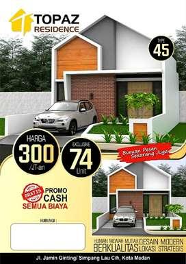 Rumah Mewah Murah Pinggir Jalan Jamin Ginting Medan