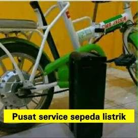 Sepeda listrik spare parti pusat service