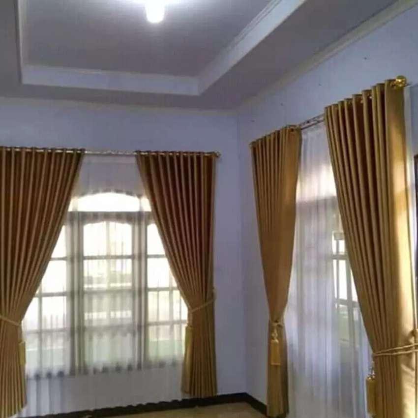 Tirey cantik Gordyn ruang tamu kordyn cantik dan elegan_435DS 0