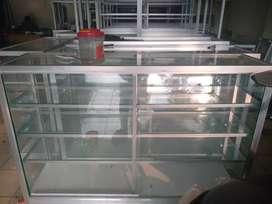 Etalase aluminium siap dijual