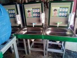 Wastafel cuci tangan portable anti karat berkualitas