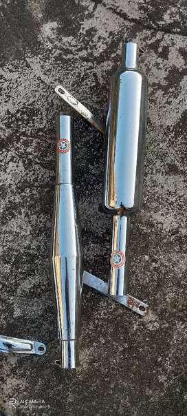 Old bullet silencer (rocket )