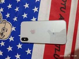 iphone X 64gb sara phn theek aA bas glass crack hoya uppron side ton